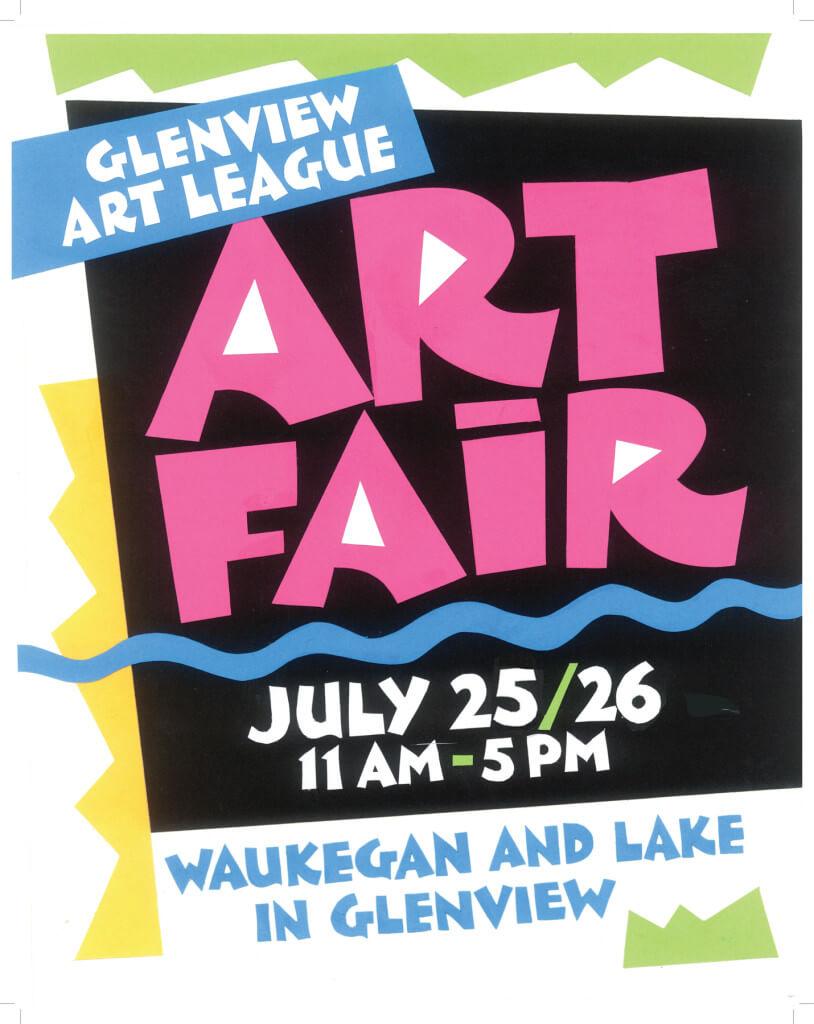 Glenview Summer Art Fair 2015!