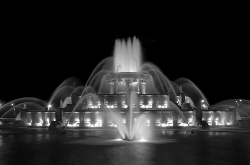 Buckingham Fountain by Brian Kabat
