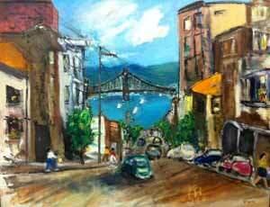 City by by Bob Leopold
