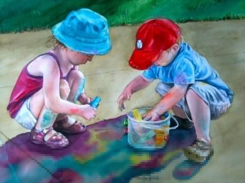 Colorful Cousins by Marilyn Jamora