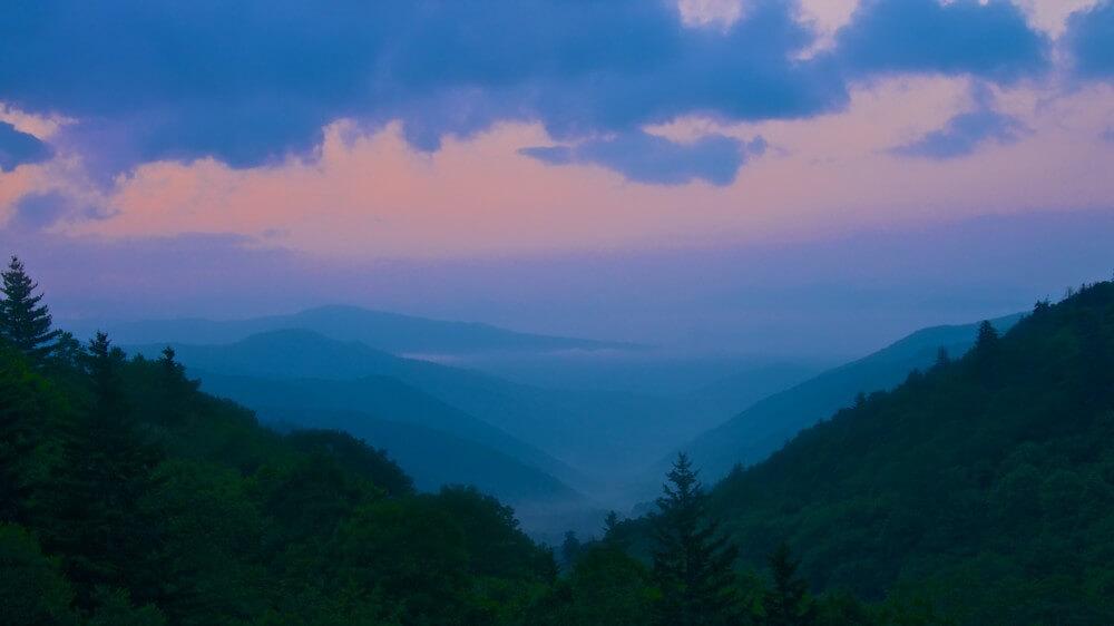 Great Smokey Mountains Sunrise by Brian Kabat