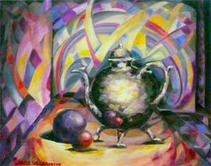 Teapot by Adele Aronson