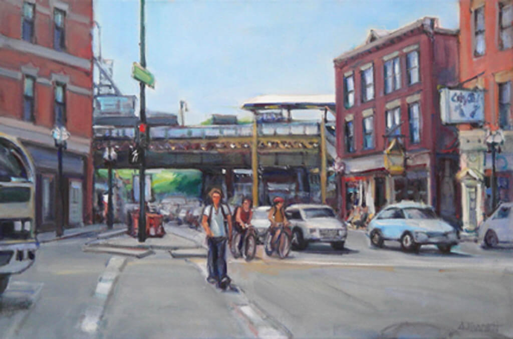 Wicker Park by Audrey McCartney Barrett
