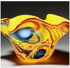 Yellow Orb Shell by Rollin Karg