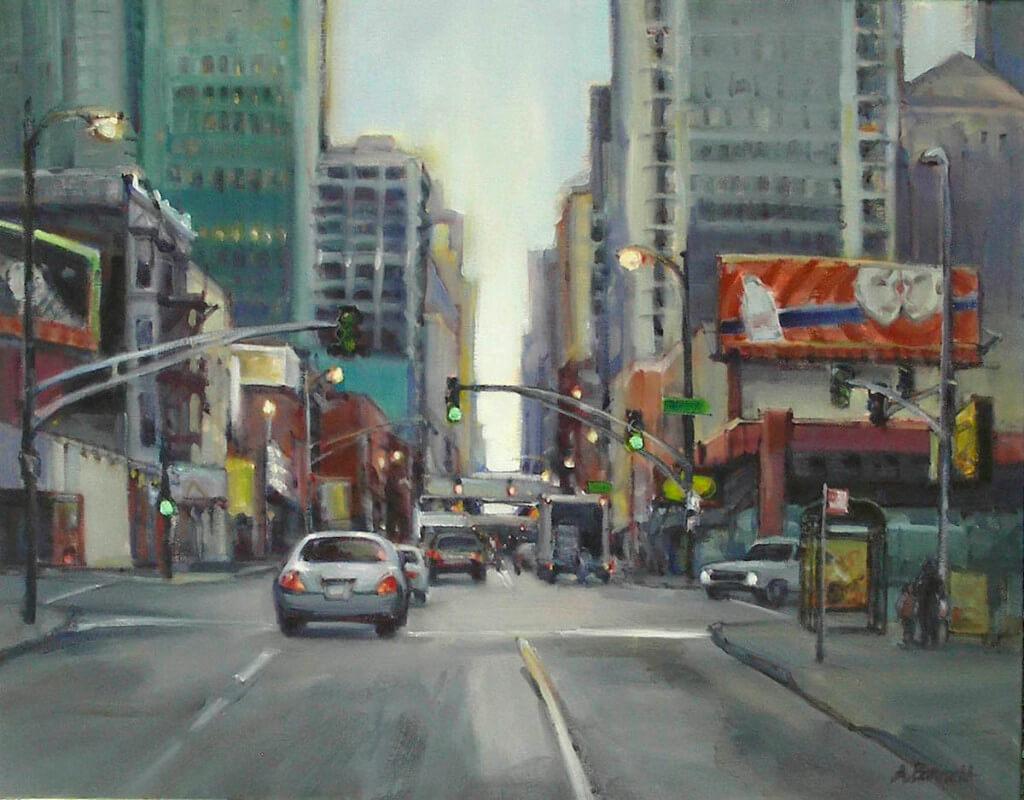 Audrey Barrett – Light Traffic on Wells
