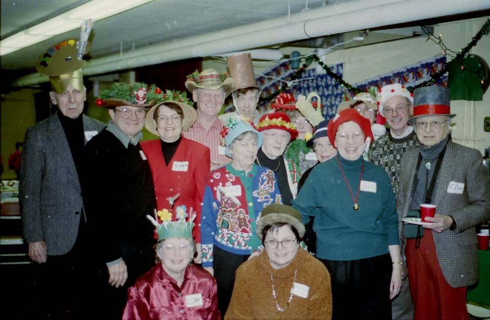 Christmas party – 2000