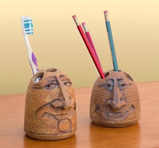 Stephen & Karen Steininger – pencil holders