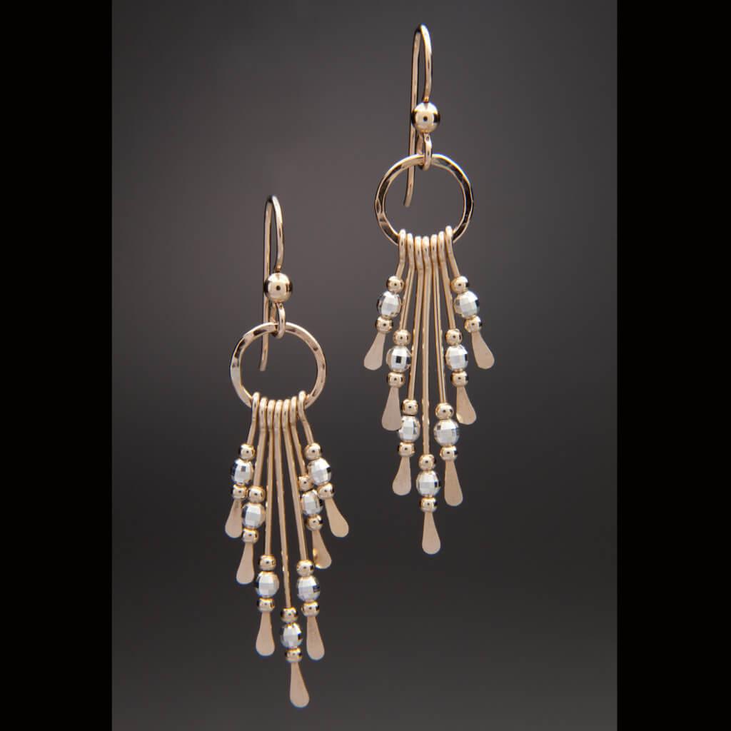 Seven Drop Earrings